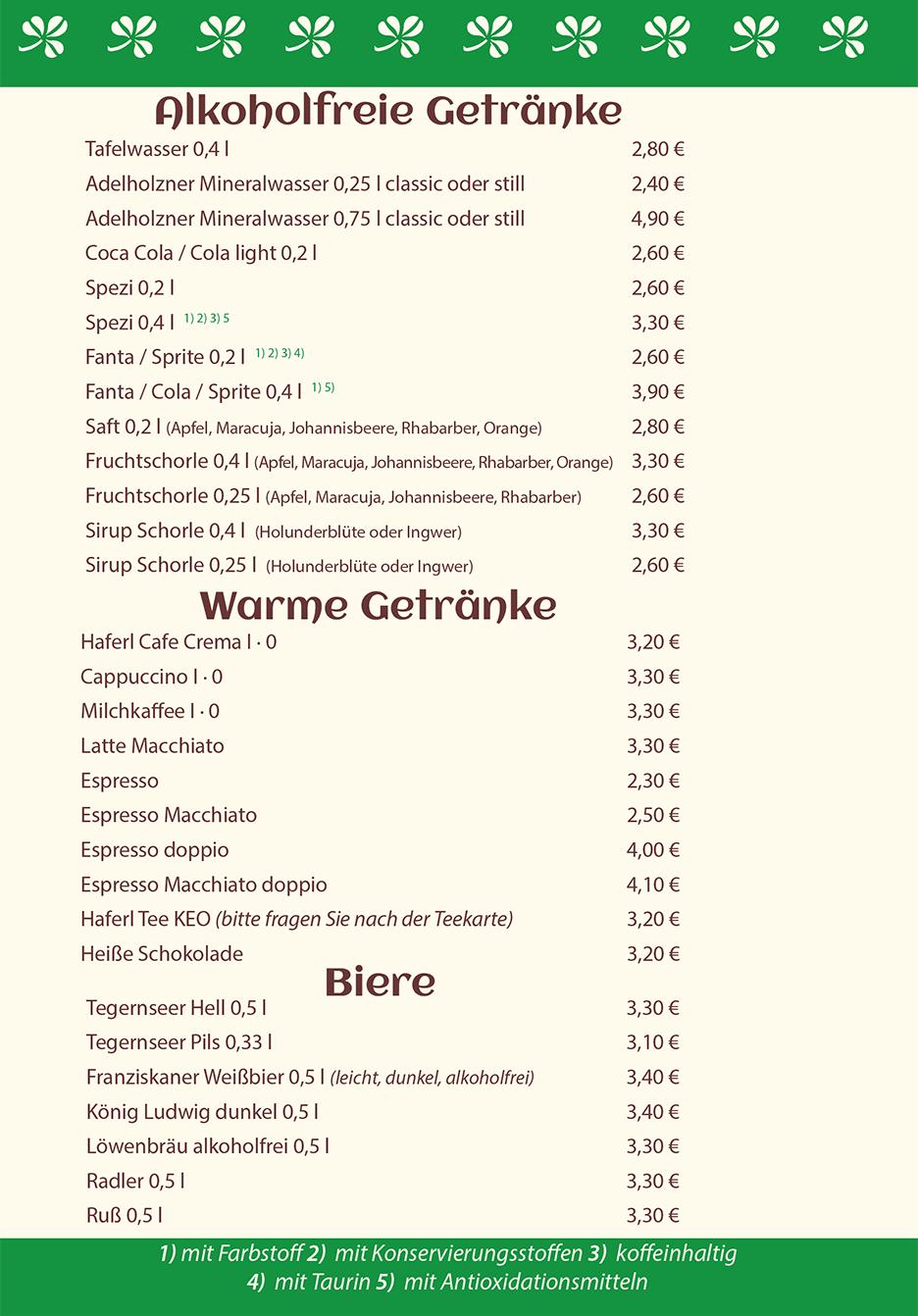 Speisekarte 2020 Seite 3