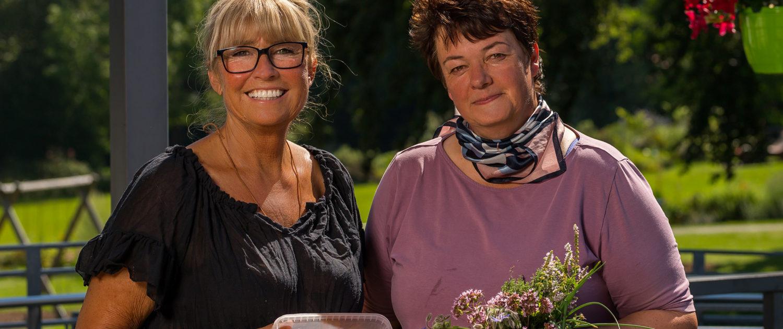 Das Bistro-Team: Birgit Knott und Mitarbeiterin Manuela