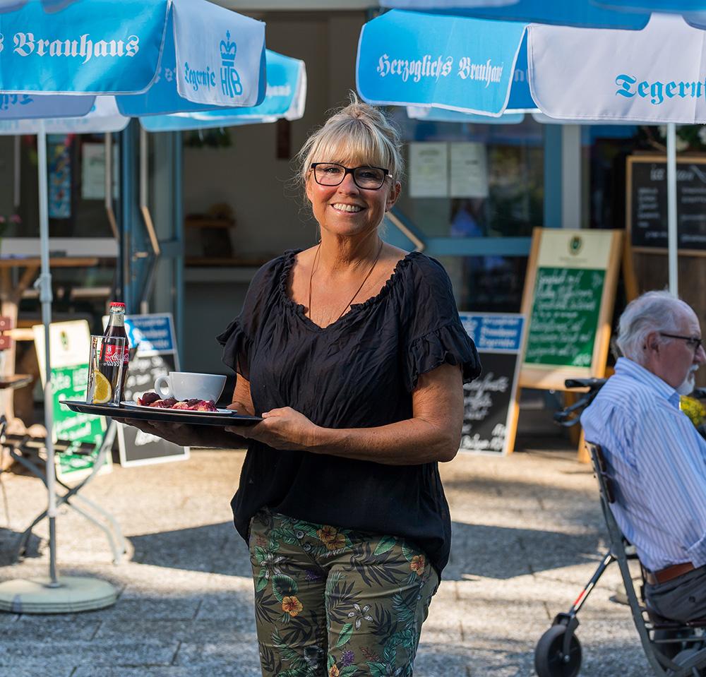 Chefin Birgit Knott