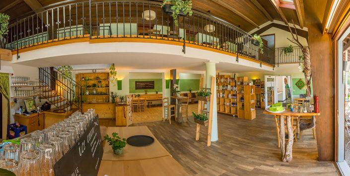 Das Bistro-Cafe im Überblick